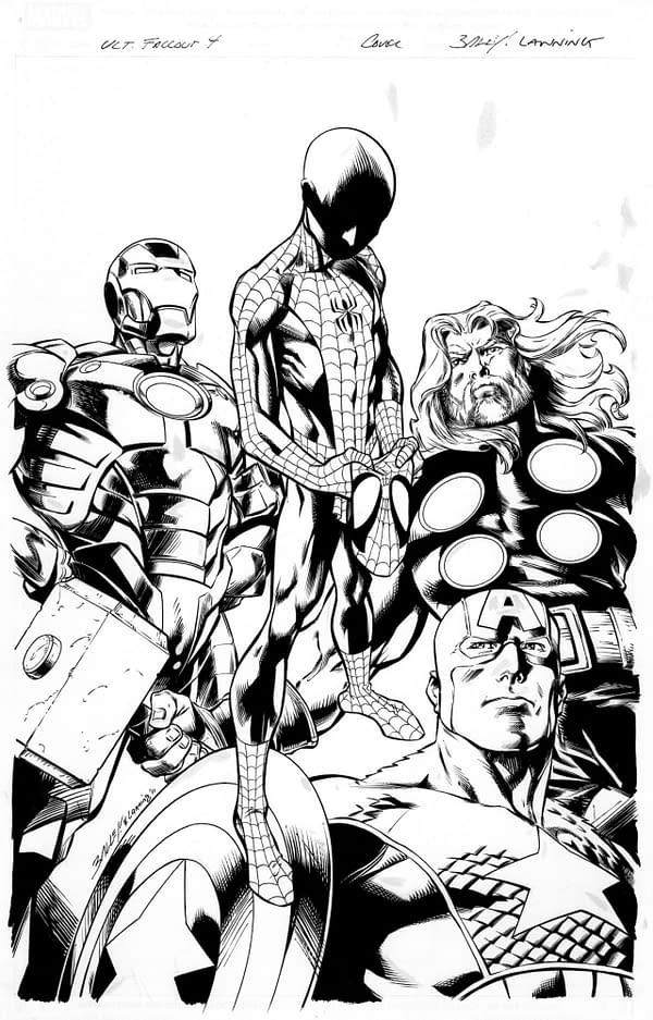 Mark Bagley's Miles Morales Spider-Man Cover Art Sells For $225,000