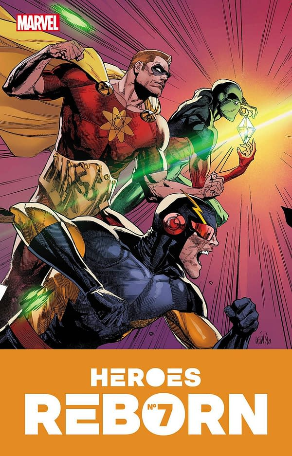 Cover image for HEROES REBORN #7 (OF 7)