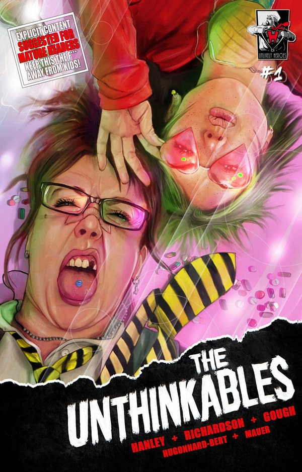 The Unthinkables #1 Review: Jerks Forced To Save The World