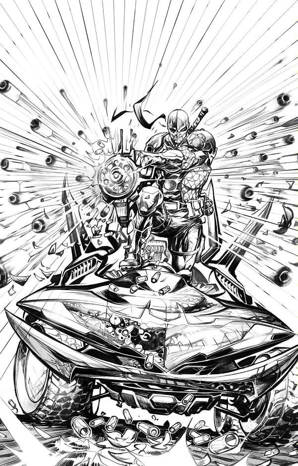 Art Preview Of Deathstroke Inc #1 by Josh Williamson & Howard Porter