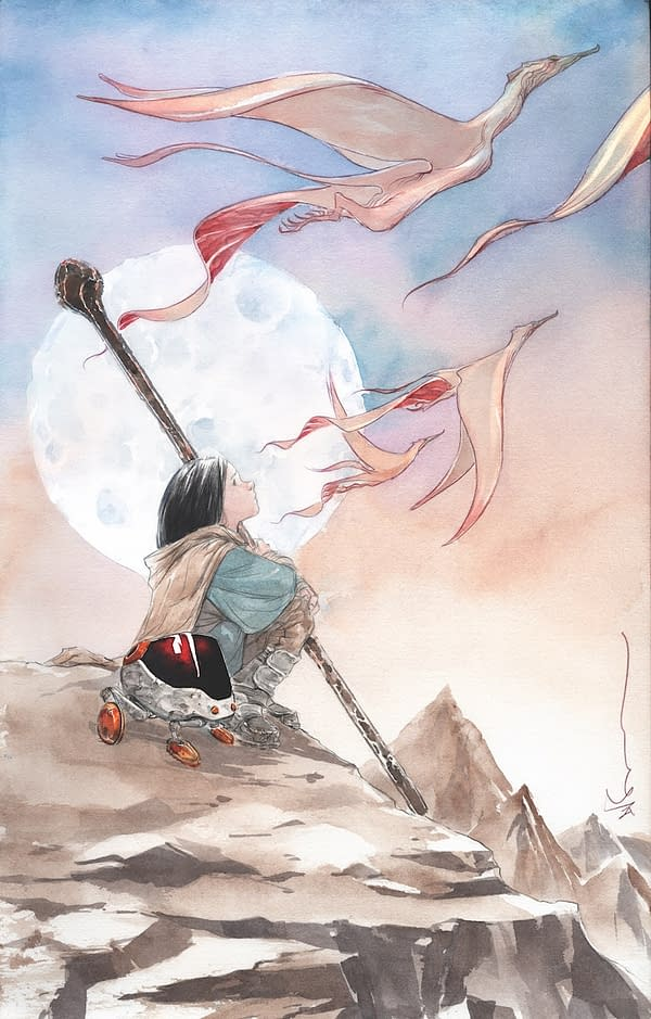 Jeff Lemire and Dustin Nguyen to Follow Descender With… Ascender