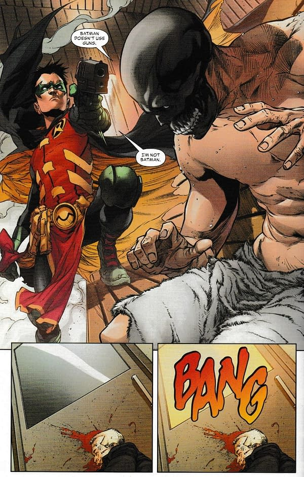 Exactly What Damian Wayne Does in That Teen Titans Special #1 [Spoilers]