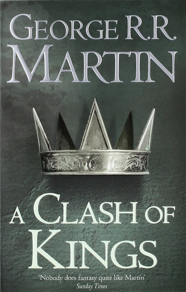 "Still Not ""Winds of Winter"": ""A Clash of Kings"" Getting Anniversary Edition"