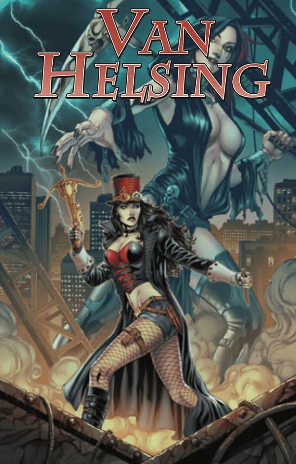 Van Helsing: Hellfire cover. Credit: Zenescope