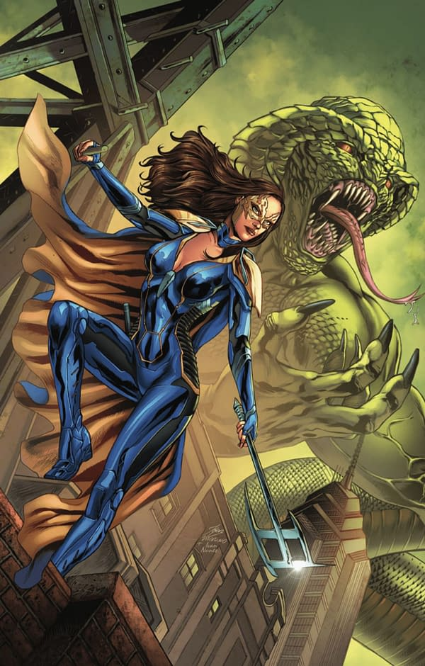 Belle: King of Serpents cover. Credit: Zenescope Entertainment