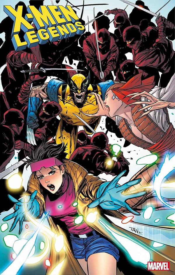 Larry Hama returns to his classic Wolverine run with Billy Tan in X-Men Legends #7 this September