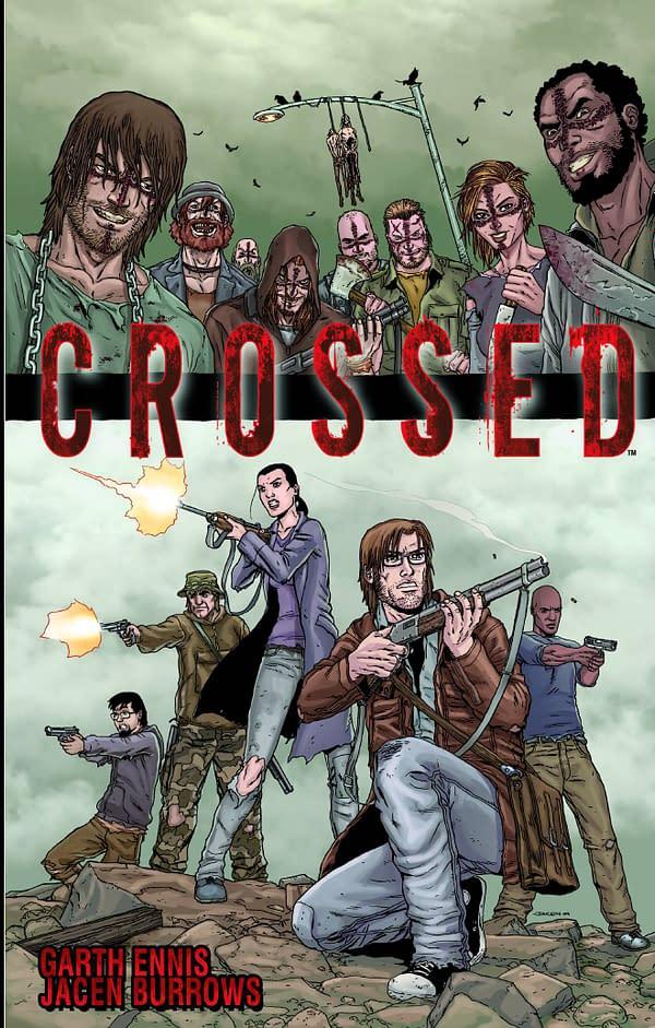 Crossed V1