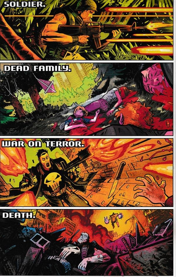 Advance Review: Cosmic Ghost Rider #1 Does Its Best Impersonation of Deadpool 2