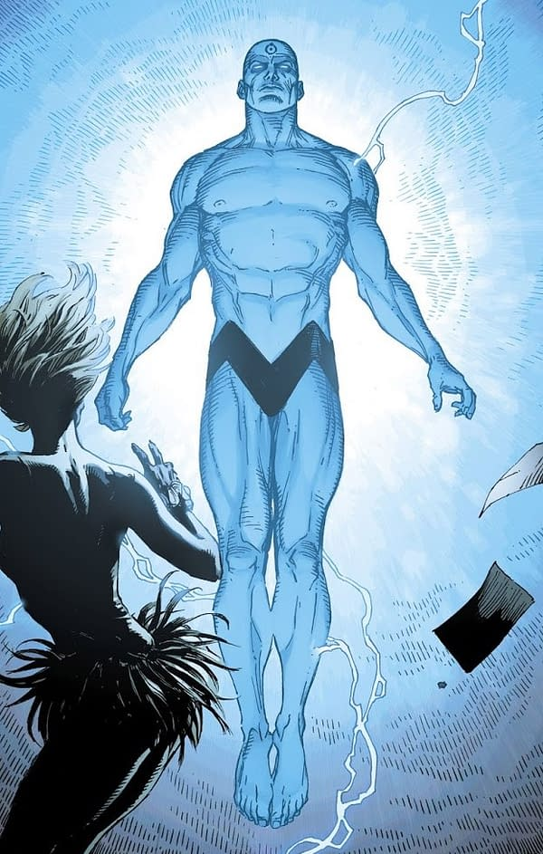 Doomsday Clock Speculation: Is Doctor Manhattan Posing as a DC Superhero?