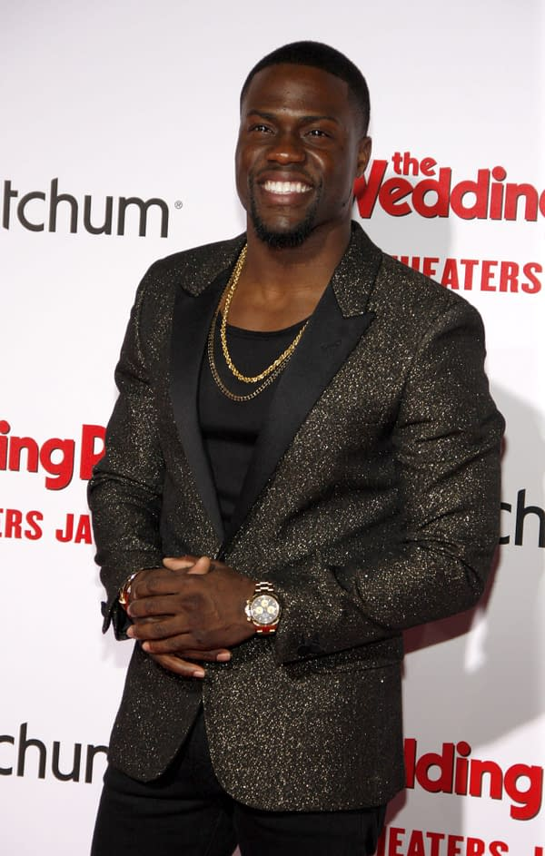 "Kevin Hart to Star in Paramount's ""Scrooged"" Remake"
