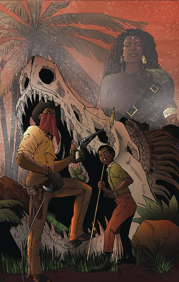 Joe R Lansdale's Son Keith Landsale Revives the Red Range with Pirates Of Firewood
