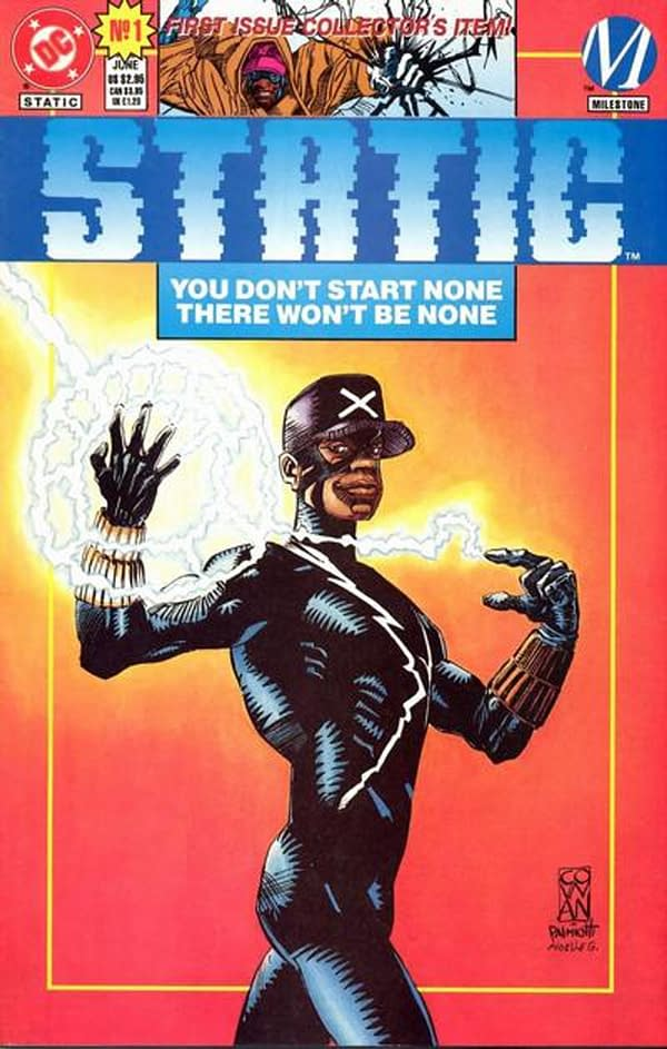 Static #1 Sells For $177 on eBay After Milestone Static Shock News