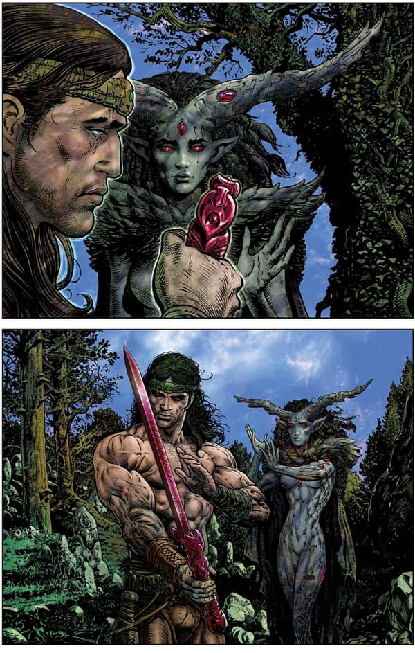 Liam Sharp's Creator-Owned Comic Looking For A Home