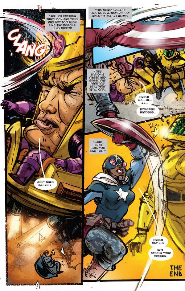 How Marvel Comics Refers To Donald Trump Now That He's President, In Marvel Two-In-One #1 (SPOILERS)