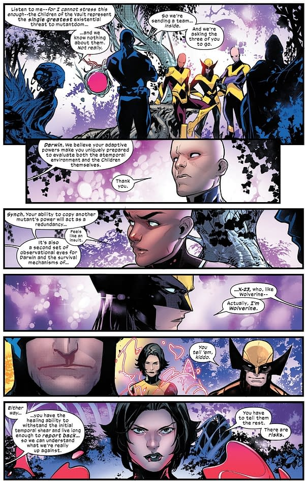 El regreso de The Children Of The Vault a los X-Men de hoy # 5 (Spoilers)