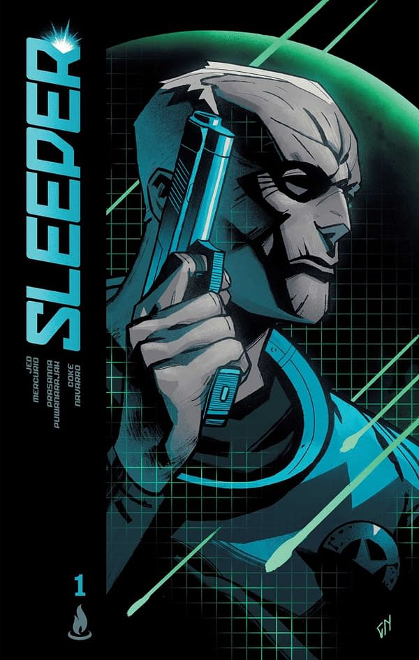 Jed Mercurio's Graphic Novel, Sleeper, Out This Week