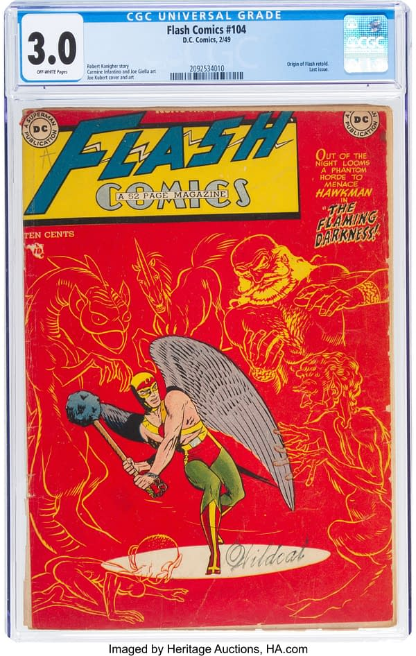 Flash Comics #104 CGC 3.0 from DC Comics.