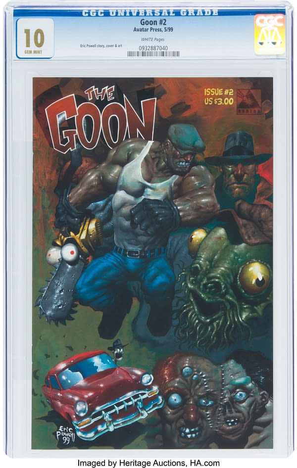 The Goon #1 Stes Record, Sells For $28,000