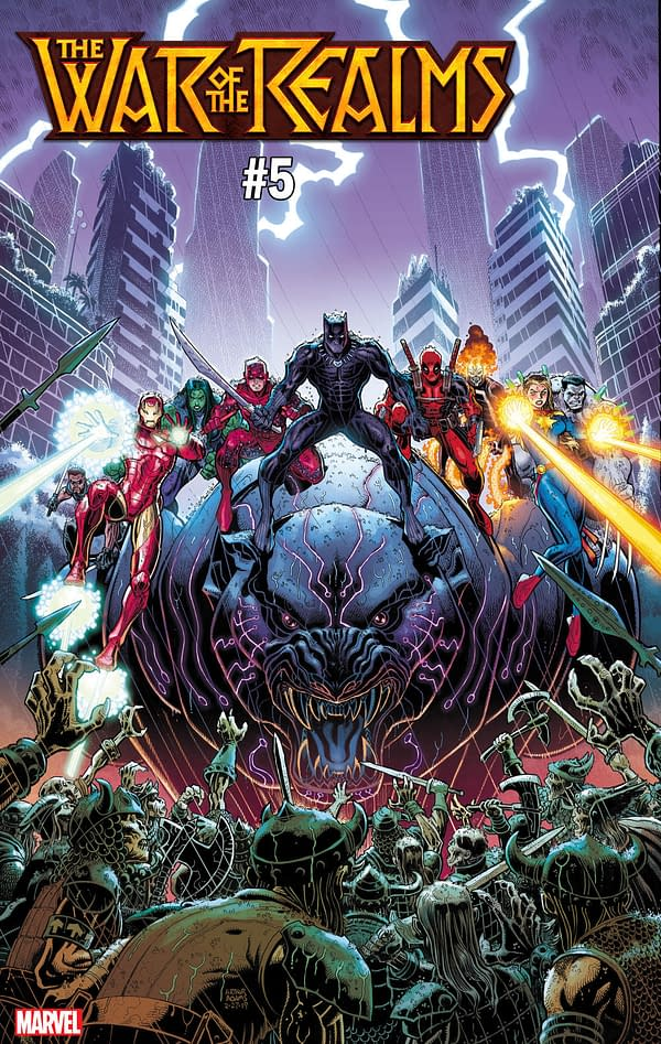 9 Marvel Heroes Who Won't Die Before War of the Realms #5 According to Art Adams