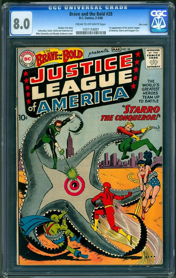 The Lovecraftian Origins of the Justice League of America