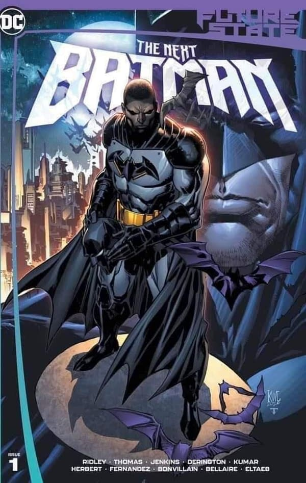 A Better Look At The Next Batman For DC Future State in 2021