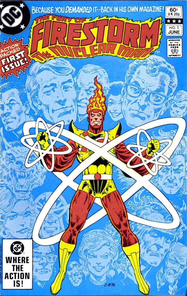 Firestorm: The Nuclear Man Turns 40, Just as He [Spoiler] Legends of Tomorrow