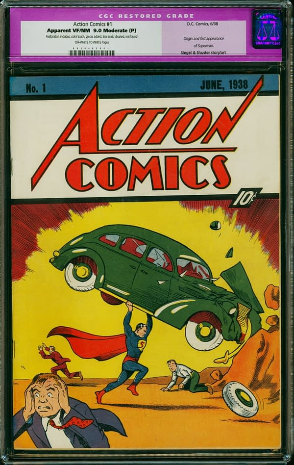 The Tale Of Three Action Comics #1 At Auction