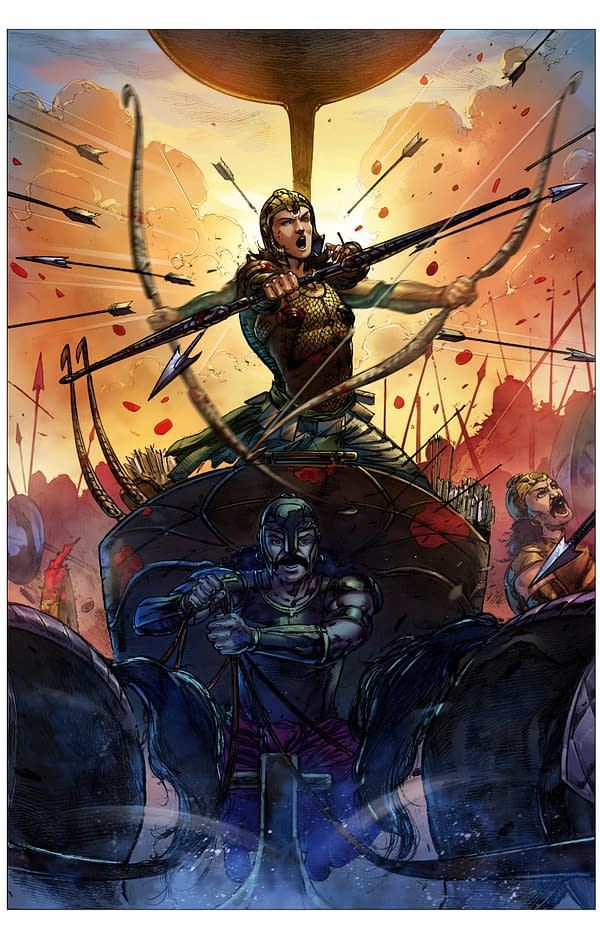 New Graphic Novel 'The One: Abhimanyu' Seeks To Detail The Chakravyu From The Mahabharata