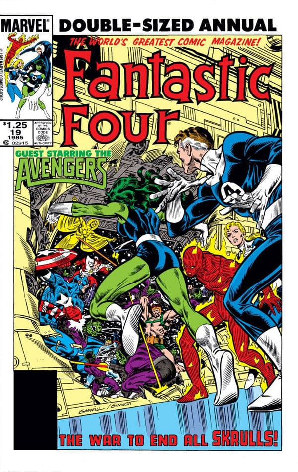 The Fantastic Four Annual #19 Cover