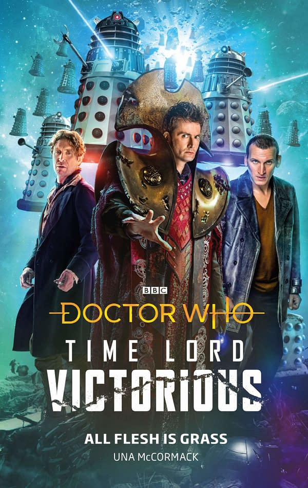 Preview of Doctor Who: Time Lord Victorious #2 Comic – Dalek Vs Hond