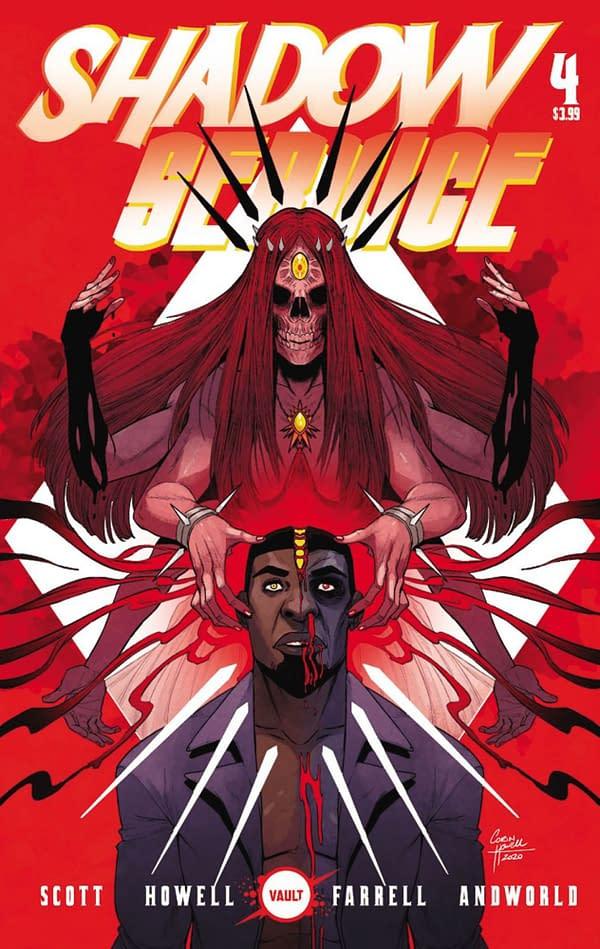 Shadow Service #4 cover. Credit: Vault Comics