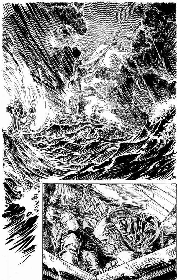 Liam Sharp Draws New Comic Lycan, Written by Thomas Jane & Mike Carey