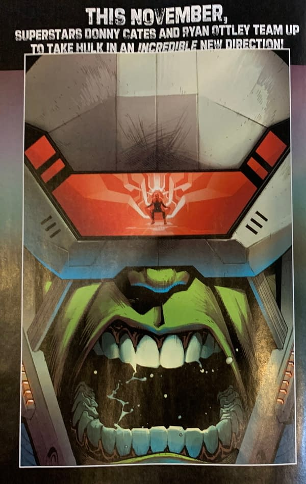 Hulk #1 by Donny Cates and Ryan Ottley
