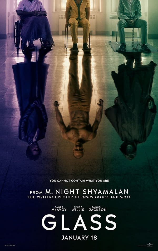 M. Night Shyamalan Shares First Poster for 'Glass'