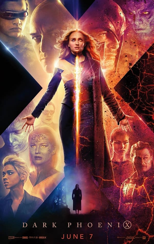 New 'Dark Phoenix' Poster, Trailer Coming Wednesday!