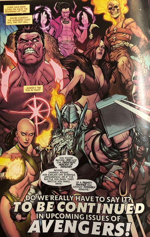 Avengers Free Comic Book Day