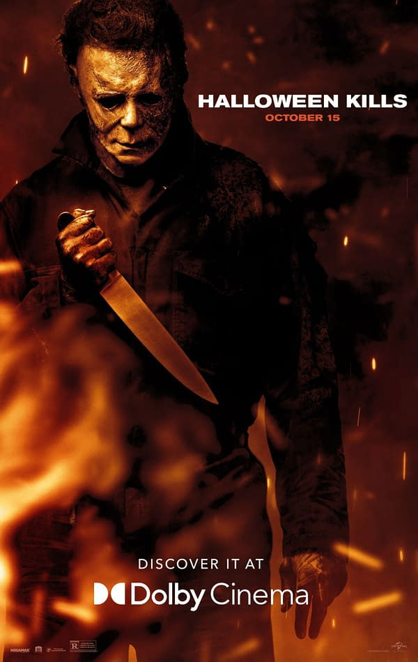 Halloween Kills Dolby Cinema Poster Debuts Two Weeks From Debut