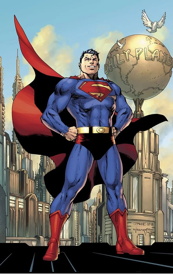 Superman Finally Gets His Red Underwear Back in Action Comics #1000