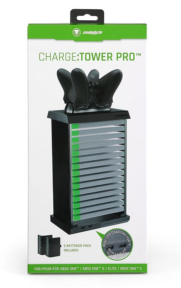 Always Be Charging: We Review Snakebyte's PS4 and Xbox One Charge Towers