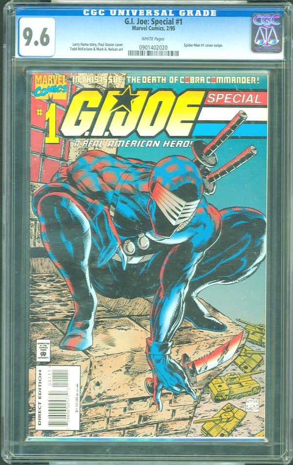 GI Joe Special With McFarlane Art CGC 9.6 ComicConnect Auction Ending