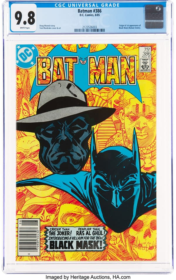 Batman #386, DC Comics 1985.