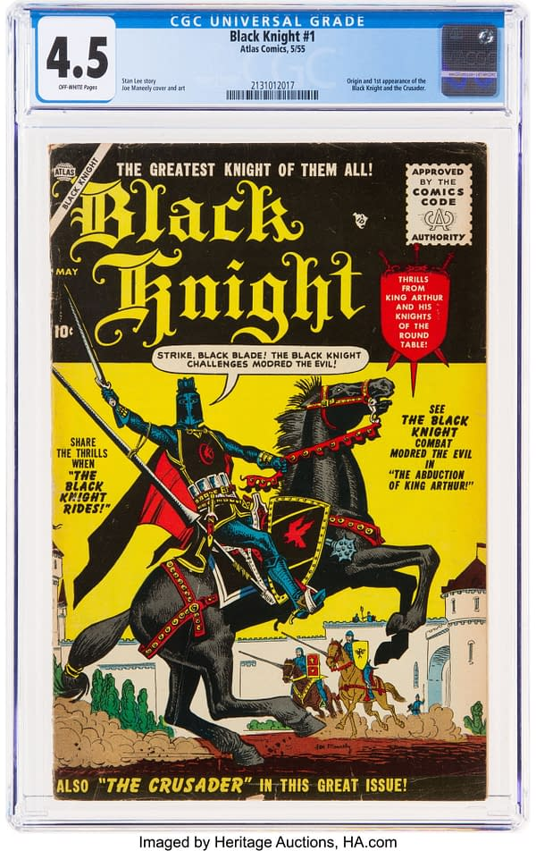 Black Knight #1 Auction Happening Right Now At Heritage Auctions