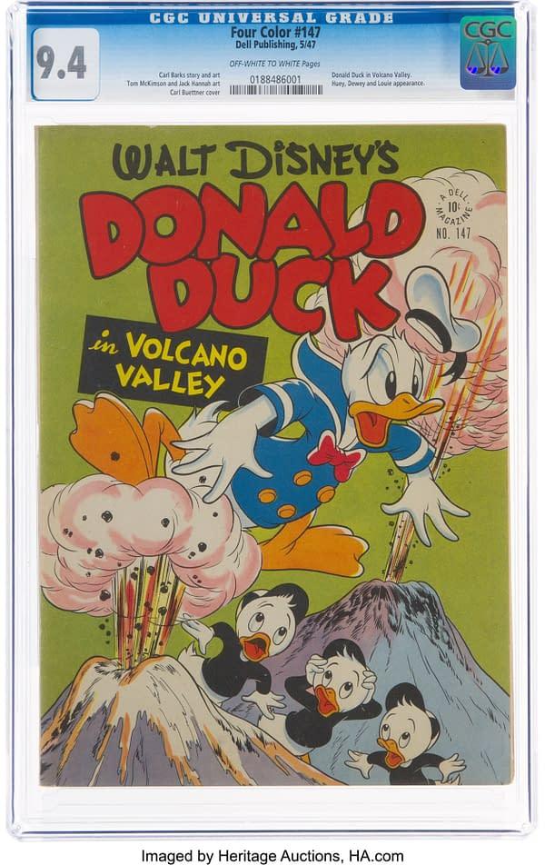 Four Color #147 Donald Duck (Dell, 1947)