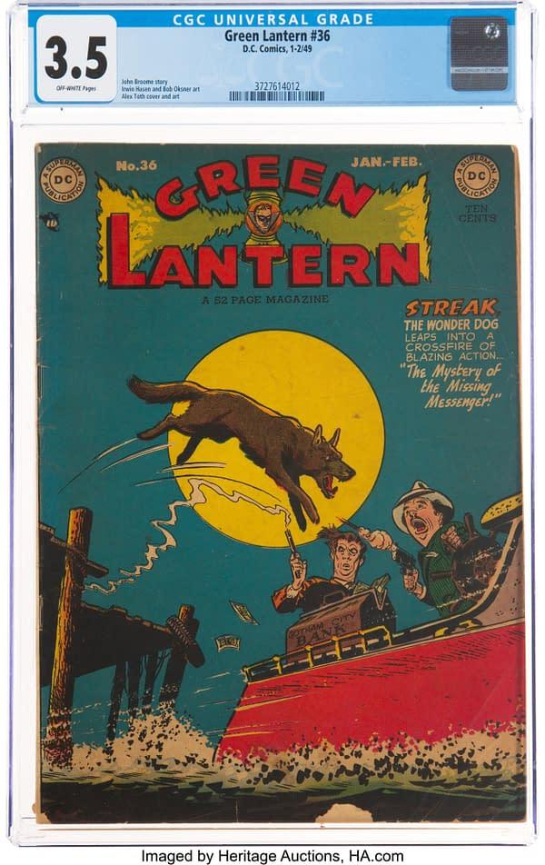 Green Lantern #36 (DC, 1949)