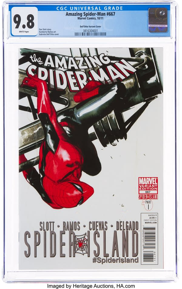 Amazing Spider-Man #667 Gabrielle Dell'Otto Variant Sells For $33,600