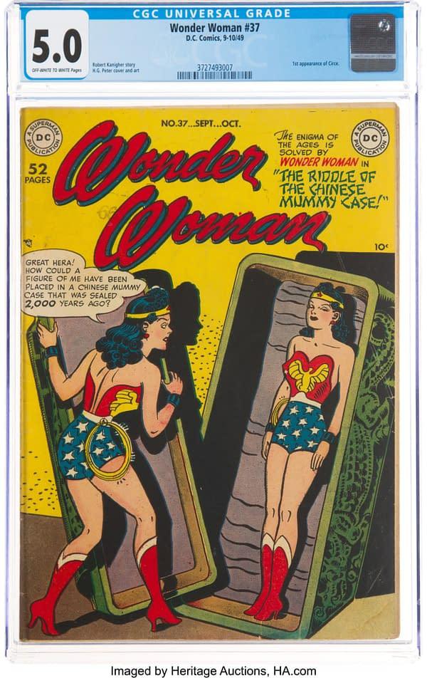 Wonder Woman #37 (DC, 1949)