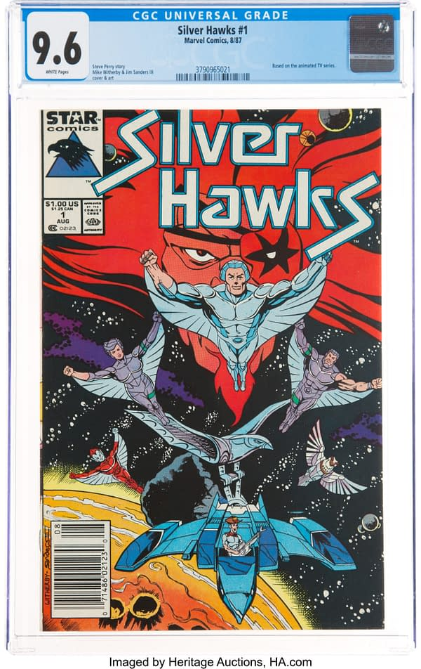 SilverHawks #1 CGC Graded 9.6 Copy Is Taking Bids At Heritage Auctions