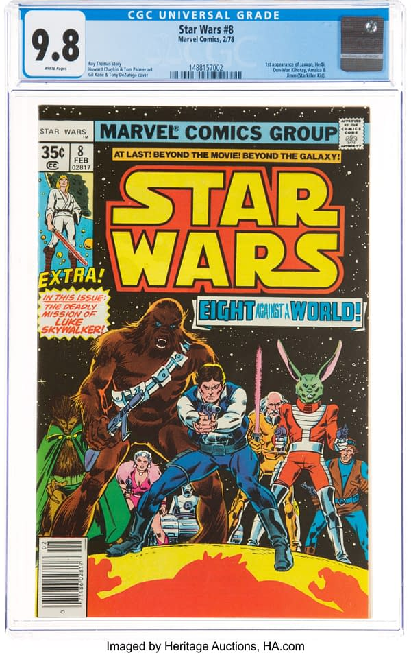 Star Wars Fans Can Get The First Jaxxon Appearance At Heritage Auctions