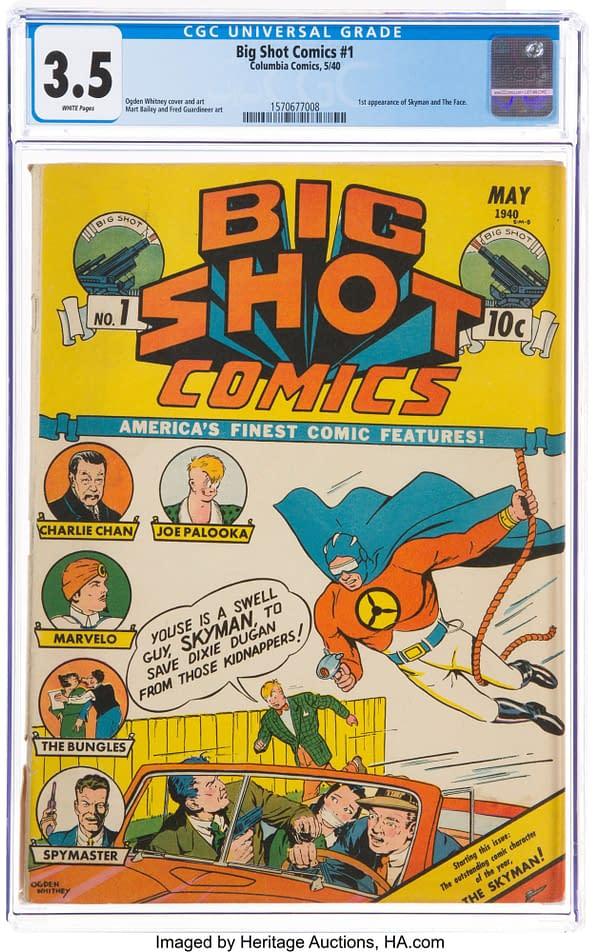 Big Shot Comics #1 (Columbia, 1940)