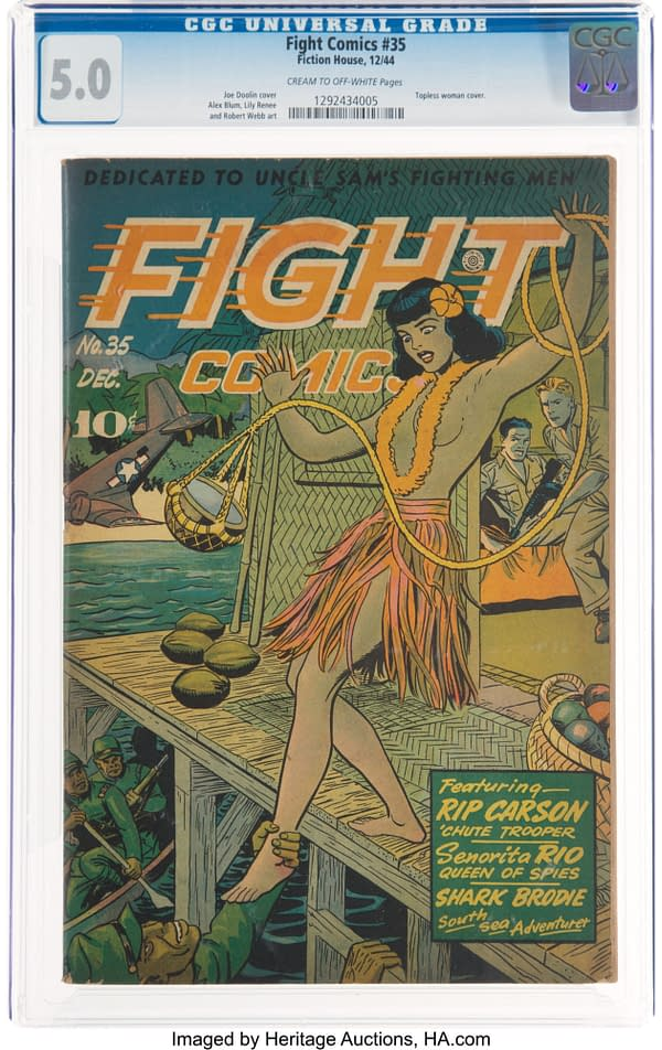 Fight Comics #35 (Fiction House, 1944)